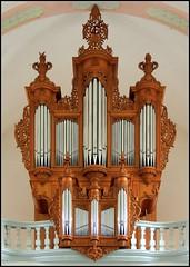 Restaurierte Silbermannorgel (horidole) Tags: kirche organ organo eglise orgel orgue curch villingen berndsontheimer