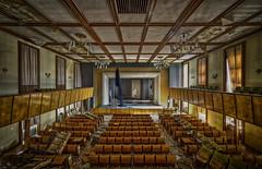 great theatre (blackslowlight) Tags: cinema abandoned theatre hdr urbex napola militarydecay blackslowlight