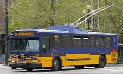 King County Metro 2001 Gillig Phantom Trolley 4161 (zargoman) Tags: seattle county travel bus electric king metro trolley transportation transit phantom gillig kiepe elektrik kingcountymetro highfloor