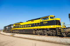 NS 1069 Francisco March 26 2016 (Train Chaser) Tags: virginian nsheritageunit ns1069
