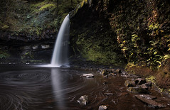 The Lady's Waterfall II (shawnraisin d+p) Tags: longexposure water wales forest woodland river waterfall rocks stream place unitedkingdom cymru gb glynneath shawnwhite sgwdgwladus streamriver canon6d afonpyrddin riverpyrddin ladyswaterfall