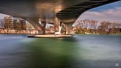 Sous le pont (flo73400) Tags: longexposure bridge architecture le pont poselongue