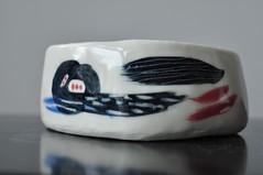 DSC_9717 (joone!) Tags: ceramics pottery handbuilt handpainted handmade bowl porcelain handbuild