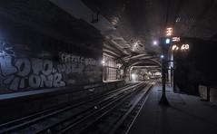 Mars Attacks! (gabegabe336) Tags: paris france abandoned station underground graffiti track metro tunnel urbanexploration champdemars disused subterranean derelict ue urbex