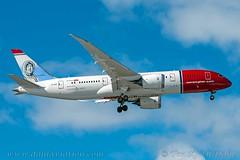 """EI-LNE, Norwegian Long Haul, Boeing 787-8 Dreamliner - cn 34796.""""Roald Amundsen"""" (dahlaviation.com Thanks for over 1 !! million view) Tags: oslo norway spotting osl gardermoen planespotting engm"""
