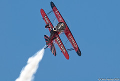 """1929 Waco CTO Taperwing - Replica """"Modified"""" N32KP (Pasley Aviation Photography) Tags: electric jack force waco general air luke jet engine replica airshow whitney modified base radial 1929 pratt sasquatch afb cto 985 2016 taperwing j85 cj610 screamin n32kp links"""