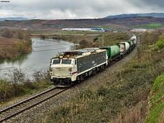 251 (firedmanager) Tags: train tren mitsubishi cenicero teco ferrocarril freighttrain renfe trena larioja 251 railtransport renfemercancías