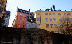 St. George and the Dragon, STOCKHOLM (claude.lacourarie) Tags: streets dragon sweden stockholm stgeorge rues sude