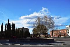 Tardes al sol (ZAP.M) Tags: nikon guadalajara cielo plazas nubes flikcr castillalamancha mwn zapm nikon5300 mpazdelcerro