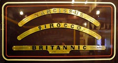 LNWR locomotive nameplates (davids pix) Tags: railway steam severn valley whale locomotive webb narcissus musem nameplate sirocco kidderminster 2016 lnwr 5452 25297 brittanic 19032016