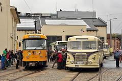 Tatra T4D #201 204 DVB Dresden Drezno (3x105Na) Tags: germany dresden tram sachsen strassenbahn tatra deutchland tramwaj dvb niemcy t4d drezno saksonia strasenbahnmuseum 201204