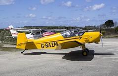 G-BAZM Jodel D11 @ St Merryn Airfield, Cornwall. (Cornish Aviation) Tags: st cornwall merryn airfield jodel d11 gbazm