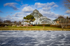 Scripps Conservatory (Notkalvin) Tags: winter cold ice frozen outdoor michigan detroit belleisle motorcity mikekline scrippsconservatory notkalvin notkalvinphotography