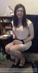 2016-04-08 - webcam (2) (emilyproudley) Tags: cute sexy glasses tv pretty dress girly feminine cd tgirl transgender tranny transvestite trans crossdresser transsexual convincing tgirls xdresser tvchix