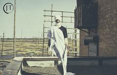 Untitled-2 (jesse_tomasello) Tags: roof portrait blackandwhite abandoned rooftop photoshop canon landscape eos 50mm blind reaper ghost creepy warehouse odd satan horror vsco 5dmk2 canoneos5dmk2 vscopreset jtomasellophotography