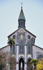 Oura Catholic Church (jpellgen) Tags: travel church japan architecture easter japanese march spring european catholic cathedral sigma christian  nippon christianity nagasaki nihon nationaltreasure  2016  oura  1770mm kushu ourachurch tenshudo d7000