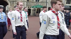 Queen's Scouts (picqero) Tags: england heritage outdoors britain culture scouts windsor tradition royalty ceremonial