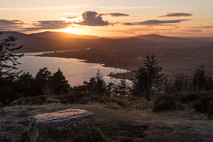 Cloughmore Sunset (Philip Blair's Photos) Tags: park county ireland sunset stone forest landscape nikon down d750 nothern ulster rostrevor cloughmore 1635f4 kilrboney