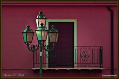 Balcone con lampione - Aprile-2016 (agostinodascoli) Tags: art texture nikon colore digitalart digitalpainting nikkor architettura sicilia lampione balcone photopainting cianciana prospetti