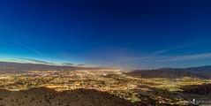 Lit Up (ihikesandiego) Tags: city cactus skyline clouds sunrise palm trail springs