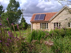 Solar thermal (C) Norfolk Solar 1