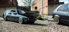 Volkswagen golf mk1 (Jonathan Sermon) Tags: vw golf volkswagen low turbo dropped golf1 mk1 stancednation lowlifestyle