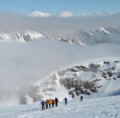 Kolonne (Alpine Light & Structure) Tags: italien italy snow alps alpes italia alpen skitour granparadiso