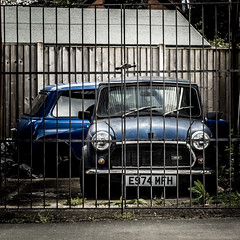 Caged (Explored 29/4/16) (timh255) Tags: car nikon gate machine mini explore 1855mm lightroom 52weeks d5200 timhutchinson