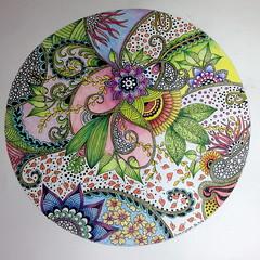 Flower doodle (sueingram24) Tags: flower floral illustration painting botanical drawing doodle zentangle zendoodle