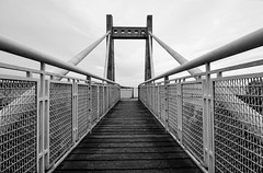 The Bridge. (Cycling Saint) Tags: blackandwhite monochrome malta wideanglelens travelphotography nikond600nikkor1635f4vr
