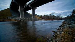 Flowing Under The Bridge (Catskills Photography) Tags: longexposure bridge water river landscape flow odc resolve ndfilter bigstopper tamron1024mmlens