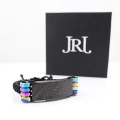 Carbon and oil sill titanium with my new boxes  #jrj #carbonfiber #jenniferrayjewelry #titanium #oilspill #mensfashion #mensstyle #fashion #wristwear #wristband #armcandy #handcrafted #menswear #jewelry #pewpew #edc #fashionmen #wristwear #wristgam (JenniferRay.com) Tags: ray jennifer jewelry carbon custom fiber exclusive paracord jrj instagram