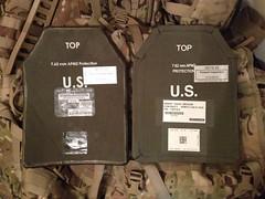 Armor Plates (AMOVET) Tags: armorplates armor plate bodyarmor insert esapi 762mm protection army usa