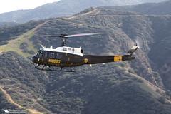 OCSD Duke 6 UH-1H (PhantomPhan1974 Photography) Tags: training bell huey bigbear ocsd uh1h orangecountysheriffsdepartment duke6 phantomphan1974 canon7dmarkii canon100400mmtelephoto n186sd
