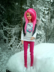 Moving-Day  ( Psycho ) Tags: winter rock doll rockstar outdoor n barbie royals 2016 neropsych
