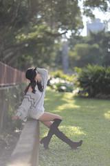 Felia050 (greenjacket888) Tags: portrait cute beautiful asian md leg lovely sg 臺灣 leggy 可愛 人像 美女 外拍 美腿 正妹 美人 美少女 美麗 asianbeauty 模特兒 亞洲 felia 85l 大眼 85f12 大眼睛 beautyleg 長腿 5dmk 5d3 美眼