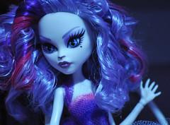 Catrine (Galactic Bunny) Tags: doll curlyhair lavenderhair boilwash monsterhigh catrinedemew