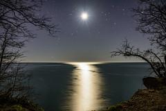 (diegomaradonatuapse) Tags: sea moon night kara nikon russia sigma 1750 deniz f28 kaya        tuapse rusya     kiseleva  d7200 d7200 d7200