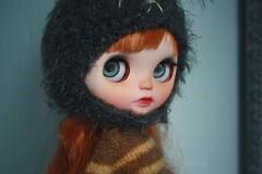 Dashiell (umami_baby) Tags: ginger miniature mod doll ooak redhead blythe freckles collectible etsy artdoll fashiondoll customizeddoll dollhouse dashiell customblythe faceup umamibaby lesjeunette blythelesjeunette