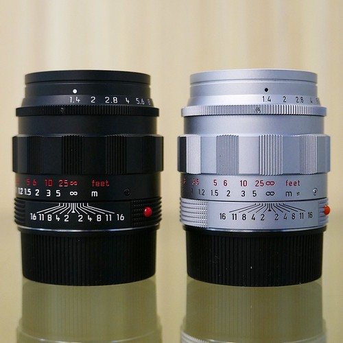 Leica Summilux M  Asph Special Edition Black Chrome Lhsa