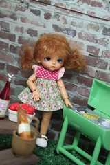 Maisie camping time (Loofthewood) Tags: white doll tan sp belle bjd beloved latidoll lati