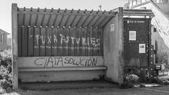 FDR-DSC08782.jpg (dironzafrancesco) Tags: old travel monochrome architecture bench cityscape busstop abandon architektur es bushaltestelle colunga spanien reise verlassen stadtbild alte sitzbank asturien principadodeasturias schwrzweiss