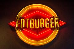 Fatburger neon light (camiladellnogues) Tags: vancouver nikon neon bc bright outdoor burger fat victoria fatburger 1952 7200 nikond7200