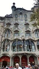 Art Nouveau. Casa Batll, Barcelona, Spain // architect Antonio Gaud (mike catalonian) Tags: barcelona spain artnouveau gaudi modernismo