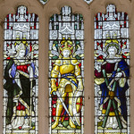 Linwood, St Cornelius church, Stained glass window thumbnail