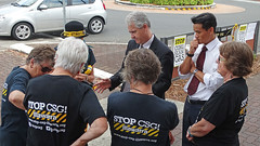 Adam Searle & Anoulack Chanthivong_1 (Tony Markham) Tags: industry water energy state dam bluemountains h2o santos federal resources dams drinkingwater macquariefields ingleburn agl csg cbm legislativecouncil watercatchment appea specialarea fracking coalbedmethane adamsearle laurieferguson hydraulicfracturing coalseamgas werriwa drinkingwatercatchment knittingnannas iknag illawarraknittingnannasagainstgas illawarranannas anoulackchanthivong shadowministerforindustryresourcesenergy shadowministerforindustrialrelations