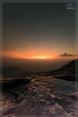 The Sun Sets Over Bandajje Falls