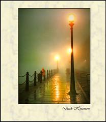 ALBERT DOCK (Derek Hyamson) Tags: film fog print 1982 negative albertdock