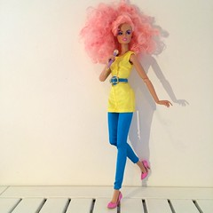 In stitches Jem by integrity toys 🎈 (trulytrulyoutrageous) Tags: fashion doll jem royalty stiches integrity holograms jemboy