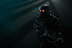 Hazmat trooper (Dark-Alamez) Tags: game actionfigure 3a hazmat killzone threezero threea hazmattrooper